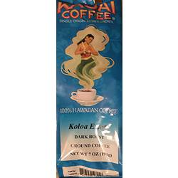 Kauai Coffee Co. Single Origin Dark Roast Ground Coffee 7 Oz.